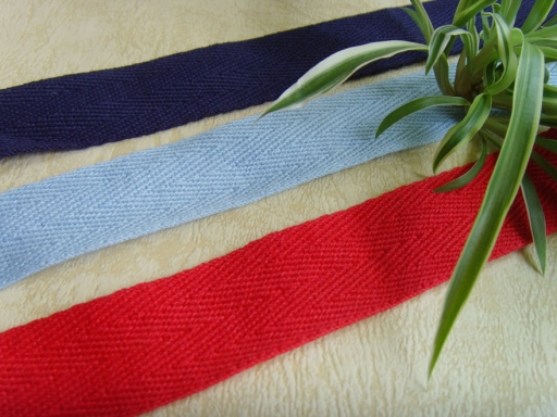 twill cotton ribbon