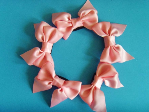 satin ribbon bows