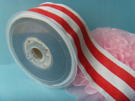 polyester striped grosgrain ribbons