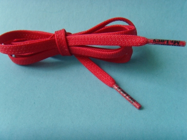 silicone printed flat shoelace