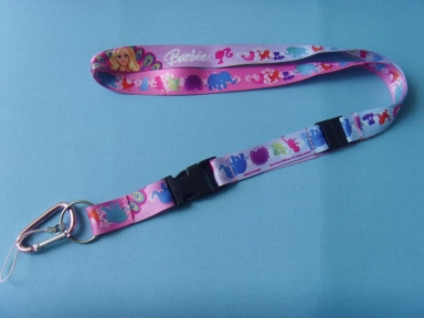 Pink girl bottle holder lanyards