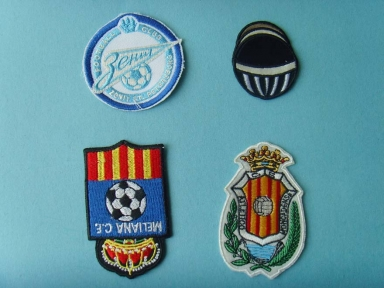 football conception emboridery patch pour usure de football