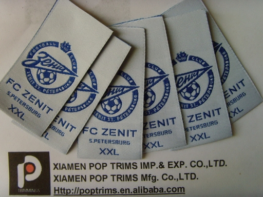 custom clothing label woven label garment label